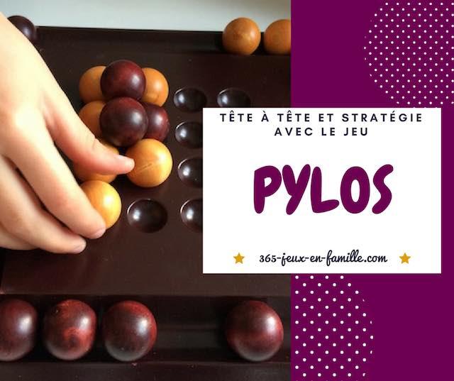 Pylos un jeu de stratégie en tête à tête