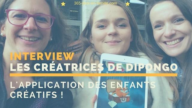 Dipongo : une application pour enfants créatifs !