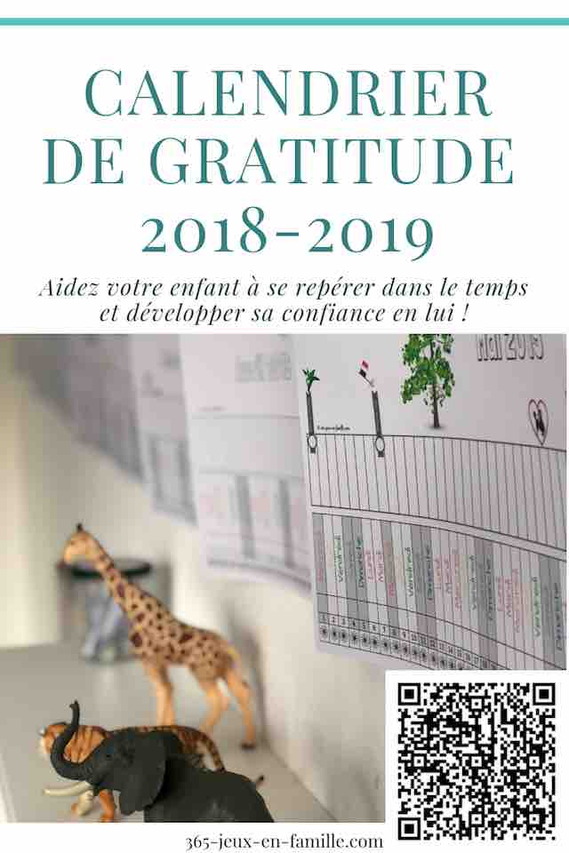 La poutre de gratitude 2018-2019