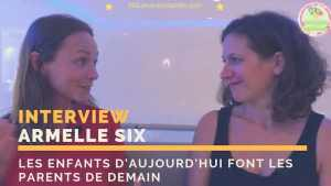 Read more about the article Armelle Six : vivre en présence avec ses enfants