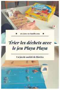 Trier les déchets avec Playa Playa