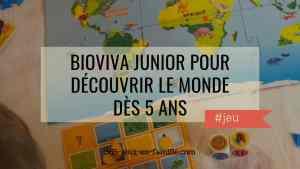 Bioviva Junior pour découvrir le monde dès 5 ans