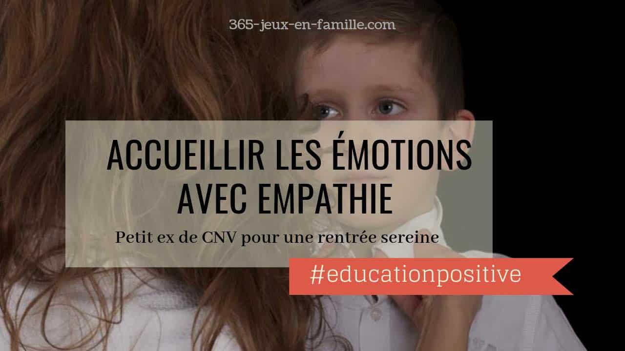 You are currently viewing Accueillir les émotions avec empathie pour une rentrée sereine
