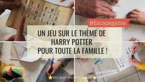 Un jeu thème Harry Potter