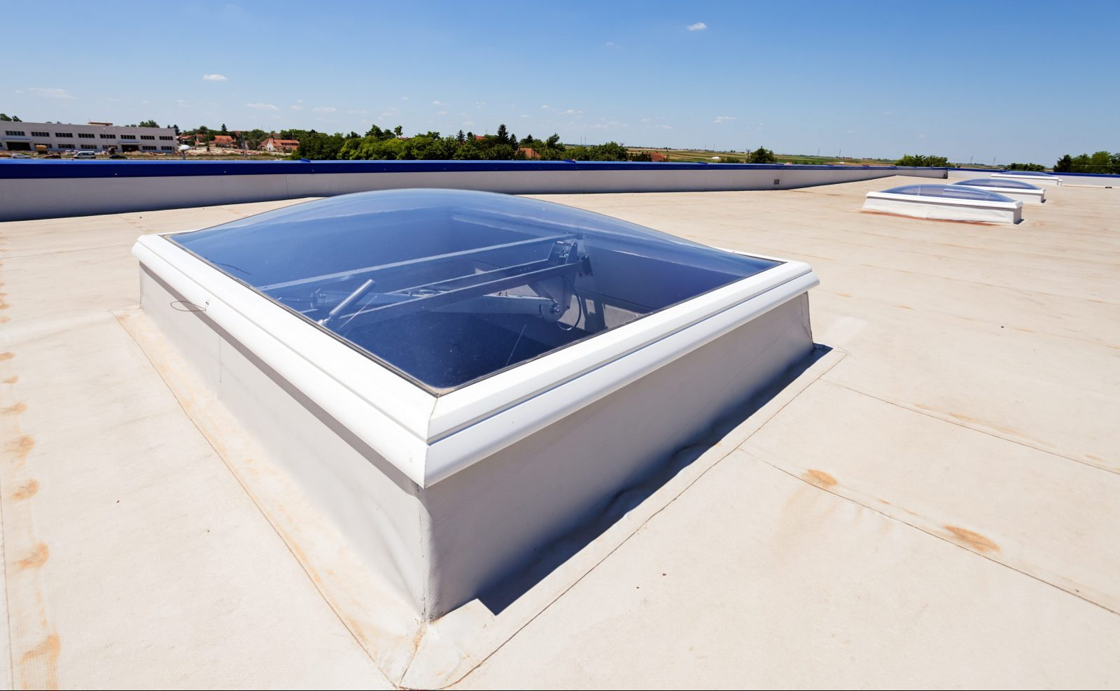 pvc skylight commercial roof
