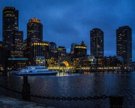 Rowes Wharf at the Blue Hour
