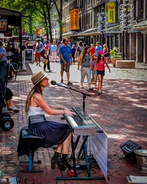 Boston Street Music