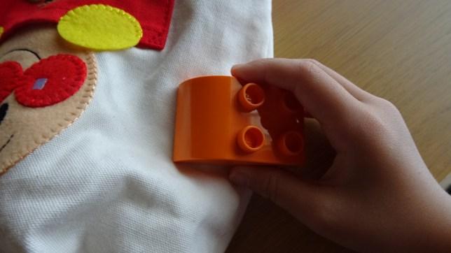 レゴで形当てゲーム(7)