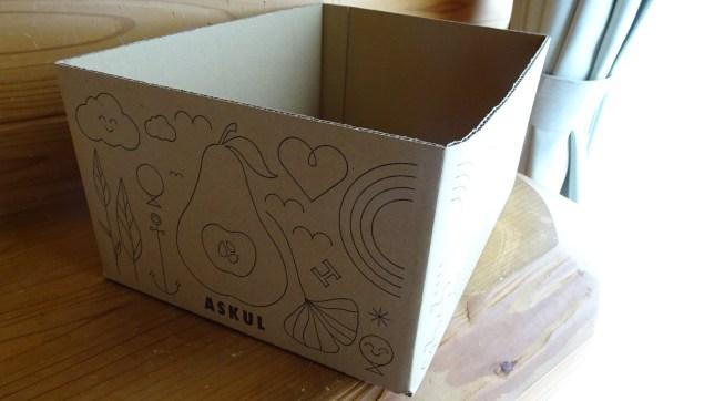 ロハコのダンボール箱(3)