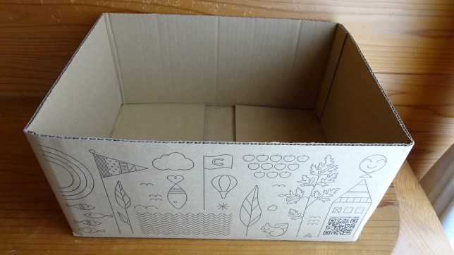 ロハコのダンボール箱(4)