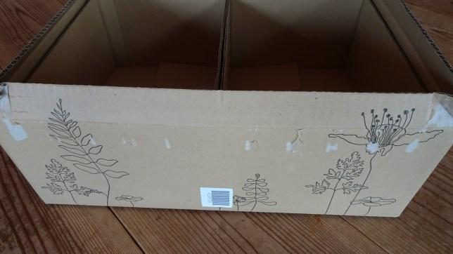 ロハコのダンボール箱(2)