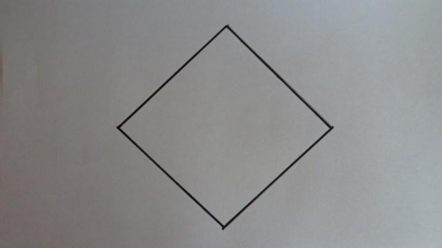 ひし形を描くコツ(6)