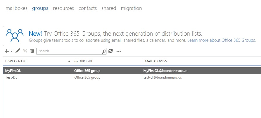 How to: Add multiple email addresses to Distribution Groups in