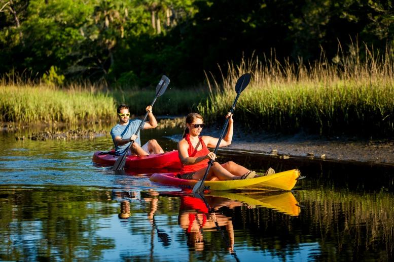 Intercostal waterway courtesy of Visit Jacksonville