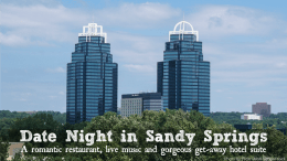Date night ideas sandy springs ga