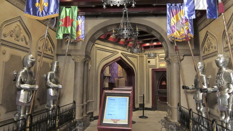 Be Our Guest Restaurant Armor Room