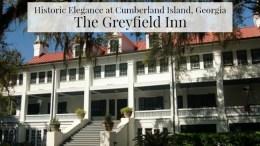 Greyfield Inn Cumberland Island, Ga.