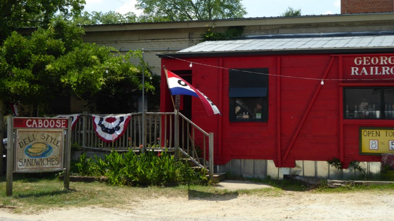 The Caboose Restaurant in Rutledge, Ga.