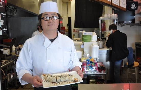 Bobu San at Naomi Sushi