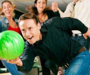 19.  Join a Pinstripes Bowling League