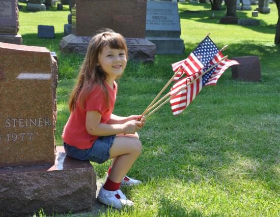Remembering Veterans at Evergreen Cemetery