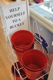 Candy Buckets at The Sweet Spot in Barrington