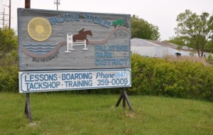 Palatine Stables Sign