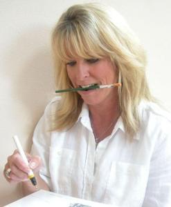 Lake Barrington Painter Sue Daly