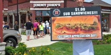 Dollar Subs at Jimmy Johns