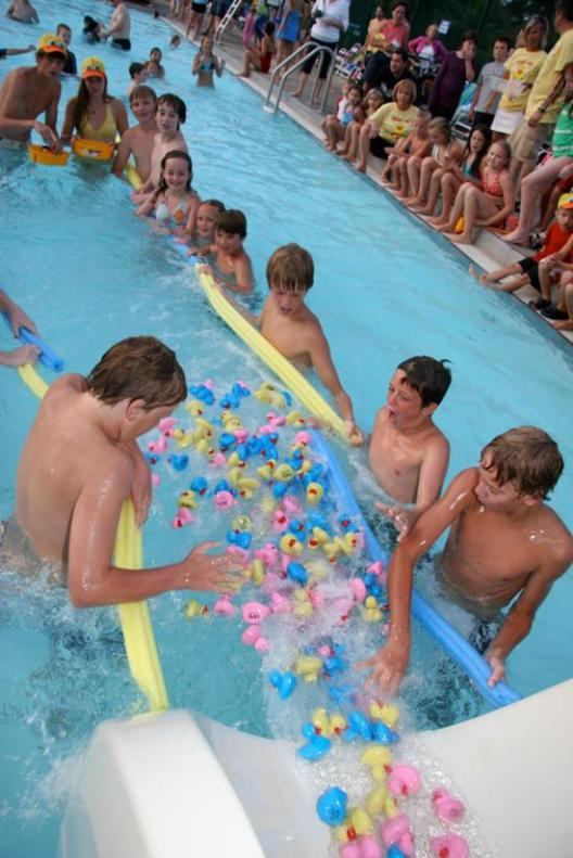 Hospice and Palliative Care Duck Races