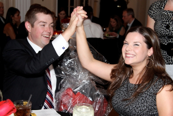 Auction Winners at the 2009 Wellnes Place Gala