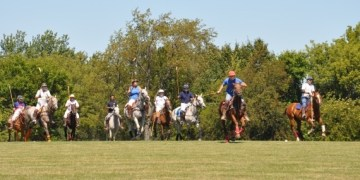 Playing Polo in Barrington Hills
