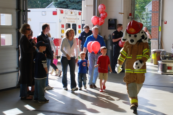 Open House at the Barrington Fire Department