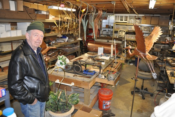 Basement Weathervane Workshop in Lake Barrington, Illinois