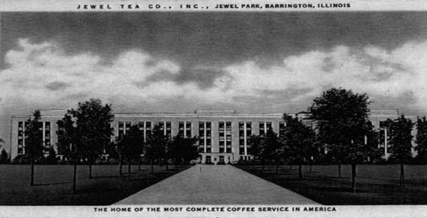 Historic Barrington Jewel Tea Company Headquarters
