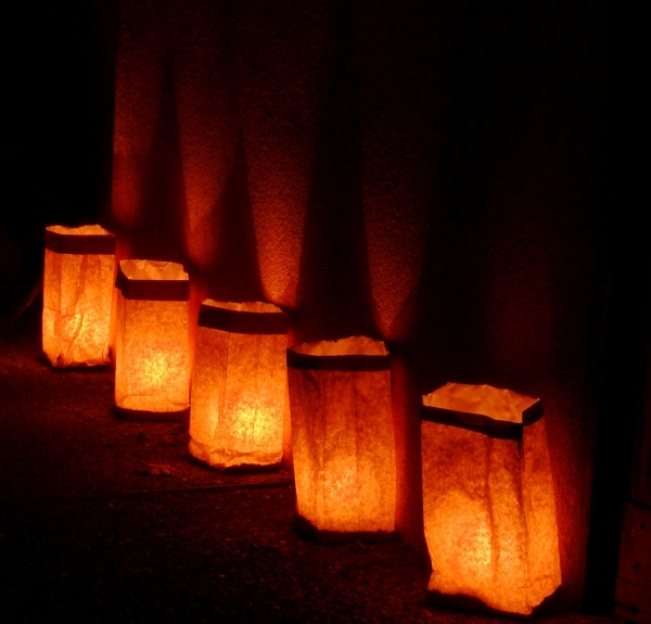 The Lighting of the Luminaries in Barrington & 230. Barrington Luminary Night | 365Barrington
