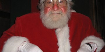 Santa Arrival at the Ice House Mall