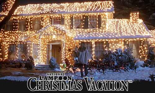 Holiday Lights from National Lampoons Christmas Vacation