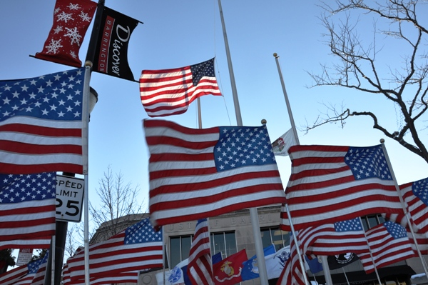 Remembering Pearl Harbor Day in Barrington, Illinois