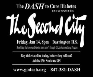 289.  DASH to Cure Diabetes Presents The Second City