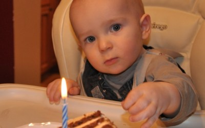 288.  Celebrate a First Birthday & a Birthday-to-Be