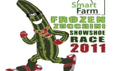 303.  Smart Farm Frozen Zucchini Snowshoe Race