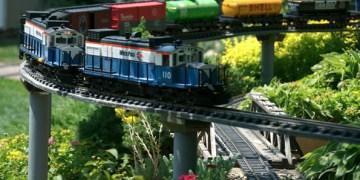 Train Lady Gardens in North Barrington, Illinois