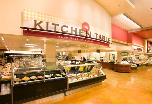 Chef Prepared Food Counter at Heinen's Grocery