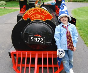 180. Ride Hogwarts Express & Tour the Train Lady's Railway Gardens