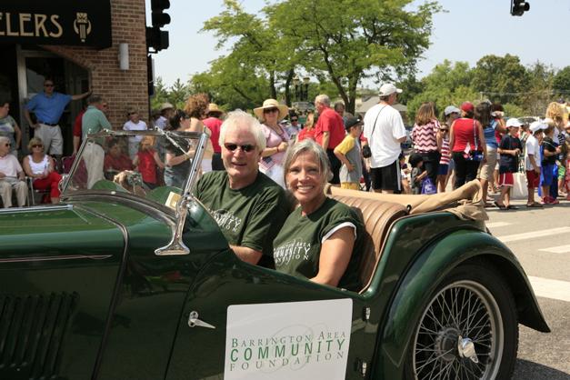 Barrington Area Community Foundation on Parade - Susan McConnell