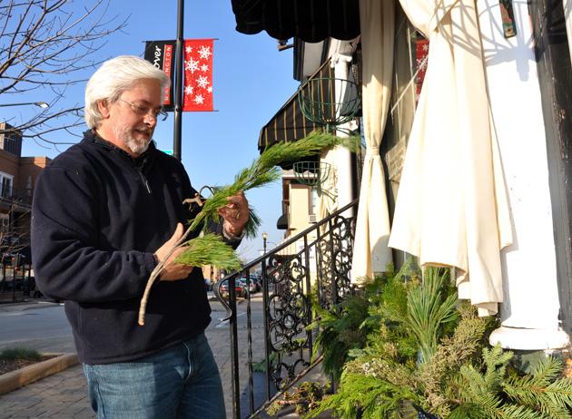 Post - Barrington Flower Shop Holiday Decor