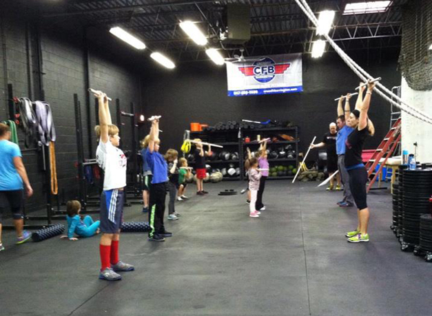 Kids' Session at CrossFit Barrington - Courtesy of CrossFit