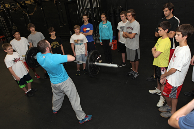 Teen Session at CrossFit - Photographed by Julie Linnekin