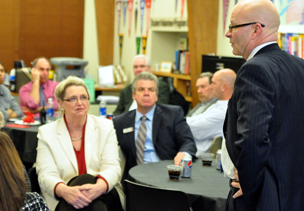Post - Tom Leonard Discusses Sandy Hook Shooting with District 220 Administrators